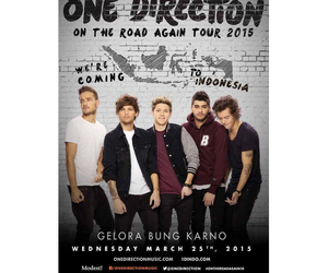 indonesia, directioners, and jakarta image