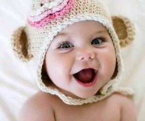 adorable, smile, and baby image