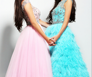 kylie jenner, kendall jenner, and dress image