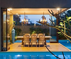 natural tone, airy atmosphere, and monsoon retreat image