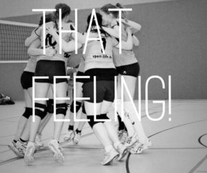 team, volley, and love image