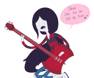marceline, adventure time, and the vampire queen image