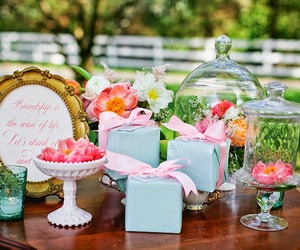 banquet, flowers, and garden party image