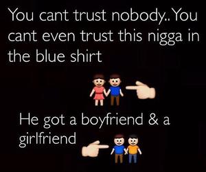 funny, trust, and boyfriend image