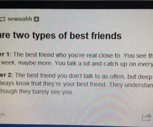 best friends, quote, and tumblr image