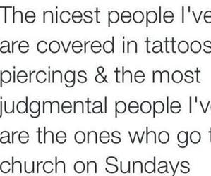 quote, tattoo, and church image
