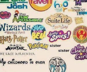 childhood, disney, and harry potter image