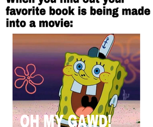 books, funny, and meme image
