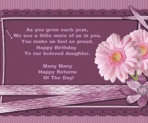 birthday, quotes, and greeting image