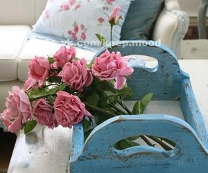flowers, vintage, and home image