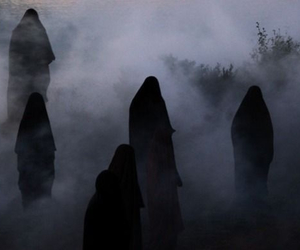 dark, black, and fog image