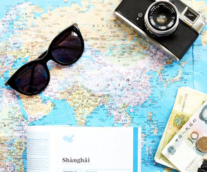 asia, camera, and maps image