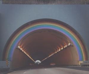 grunge, rainbow, and soft grunge image