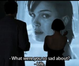sad, life, and movie image