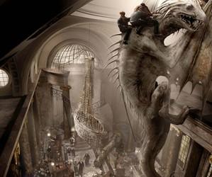 harry potter, dragon, and gringotts image
