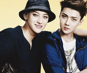 tao, sehun, and exo image