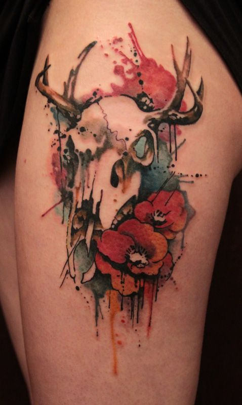 46a7a33ee 294 images about Tattoo's on We Heart It | See more about tattoo, rose and  skull