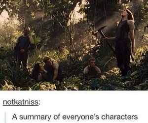the hunger games, tumblr, and catching fire image