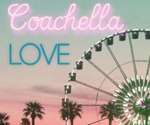 coachella and love image