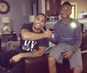 black boy and trey songz image