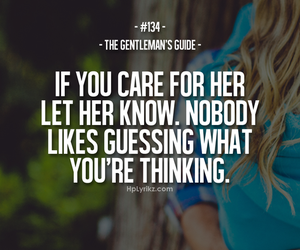 care, quote, and guessing image