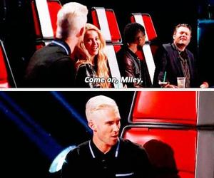 adam levine, the voice, and funny image