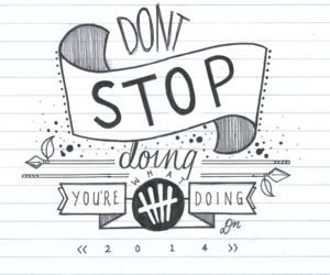 5sos, don't stop, and 5 seconds of summer image