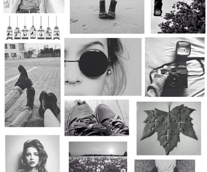 black and white and hipster image