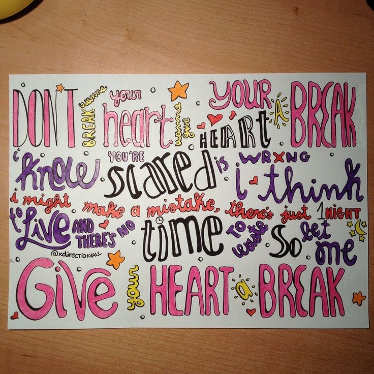 39 images about lyrics art on We Heart It   See more about Lyrics ...