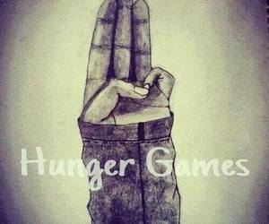 hunger games, book, and peeta image