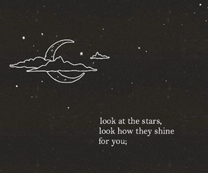 stars, quote, and coldplay image