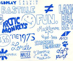 music, arctic monkeys, and bastille image