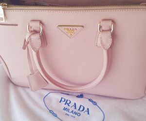 girly, Prada, and prada bag image