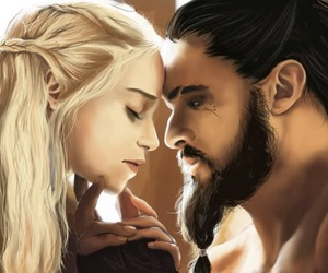 game of thrones, khaleesi, and daenerys targaryen image