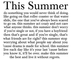 summer, quote, and friends image
