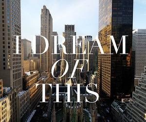 Dream, new york, and city image