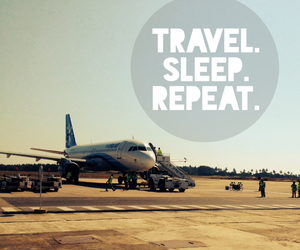 travel, sleep, and repeat image