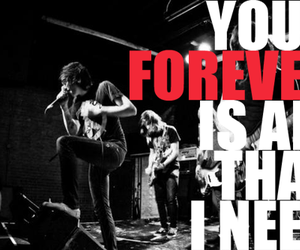 band, black & white, and sws image