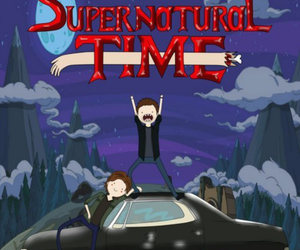 supernatural, adventure time, and Sam image