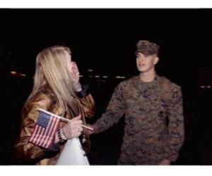 homecoming, marine, and military image