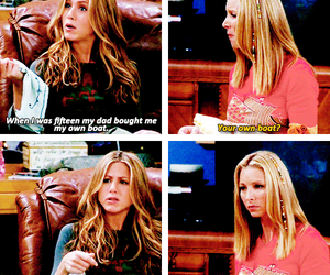 funny, phoebe buffay, and rachel green image