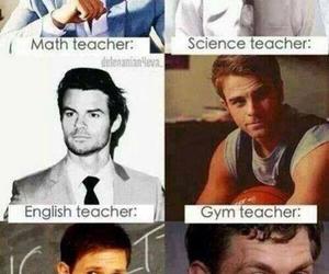 teacher, tvd, and school image