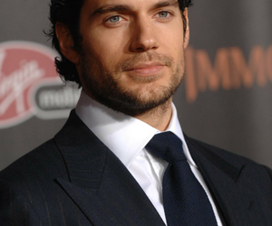 Henry Cavill, superman, and handsome image