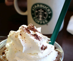 chocolate, cup, and frapuccino image