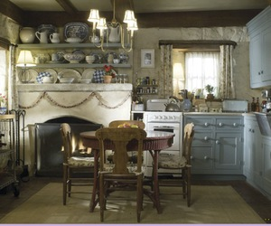 kitchen, the holiday, and cottage image