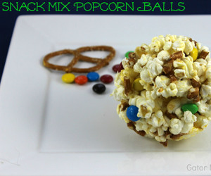 popcorn, recipe, and chocolate candy image