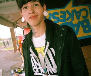t mills, boy, and piercing image