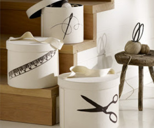 decor, hat boxes, and shabby chic image