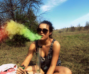 hookah and smoke image