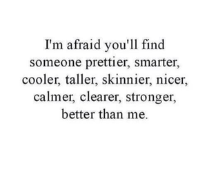 afraid and pretty image